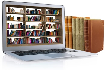 Research using books and digital resources